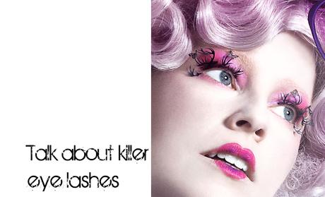 Makeup in Film: Hunger Games Special: Effie's Eyelashes