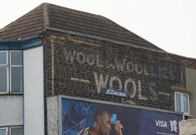 Ghost signs (67): wool & woollies, wools