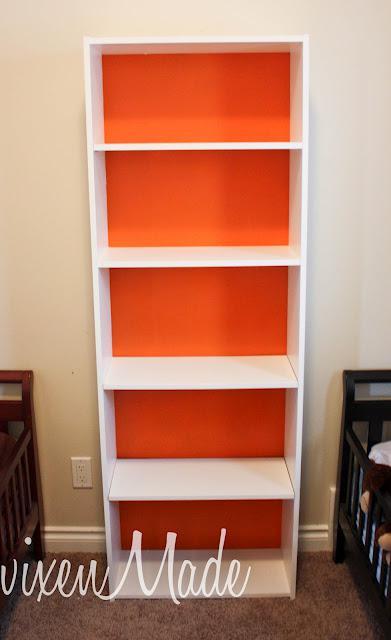 Ikea Bookshelf Makeover Paperblog