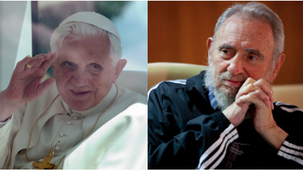 Castro meets the Pope in Havana, asks, 'So, what do you do?'