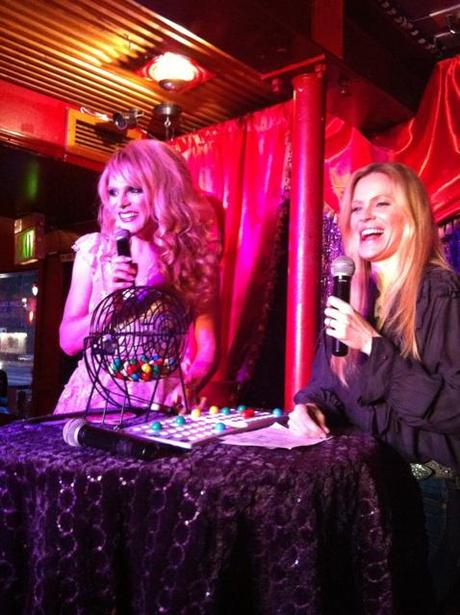Kristin Bauer at Legendary Bingo to Support Animal Rescue Corps.