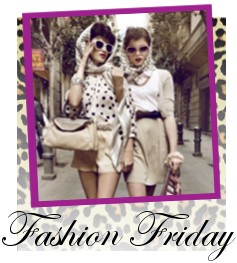 Fashion Friday and New Blog Design!!!