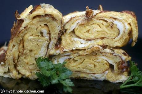 Tamagoyaki (sweet omelet) and Elizabeth Andoh Game Changer #41
