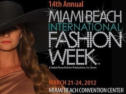 Miami Beach International Fashion Week …..a total fashion moment!!