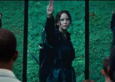 The Hunger Games sees Jennifer Lawrence emerge as a true heroine