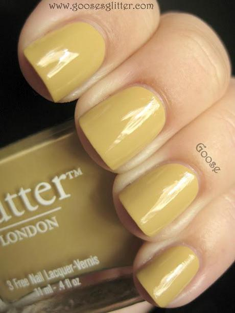 butter LONDON - Bumster and Flawless Basecoat: Swatches and Review
