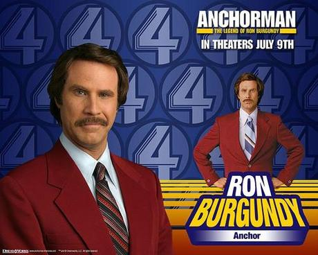 Ron Burgundy announces return of Anchorman!