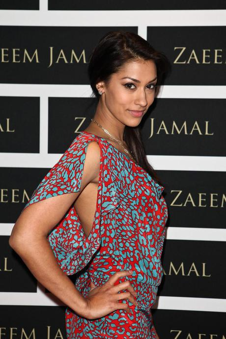 Janina Gavankar at launch of Designer Zaeem Jamal's Boutique