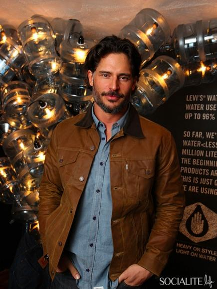 Joe Manganiello at Levi's Water Less Dinner Event