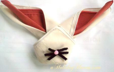 7 Easy Ways To Fold Cute Bunny Napkins for Easter