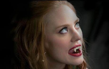 True Blood Season 5 Photo: Jessica is Showing her Fangs!
