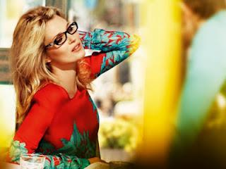 Kate Moss for Vogue Eyewear Spring/Summer 2012