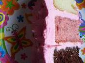 Pink Neapolitan Cake