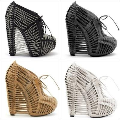 Shoe of the Day | Iris van Herpen X United Nude Crystallization Bootie