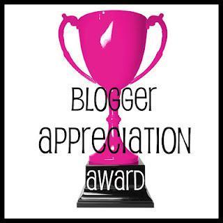 Blogger Appreciation Award!