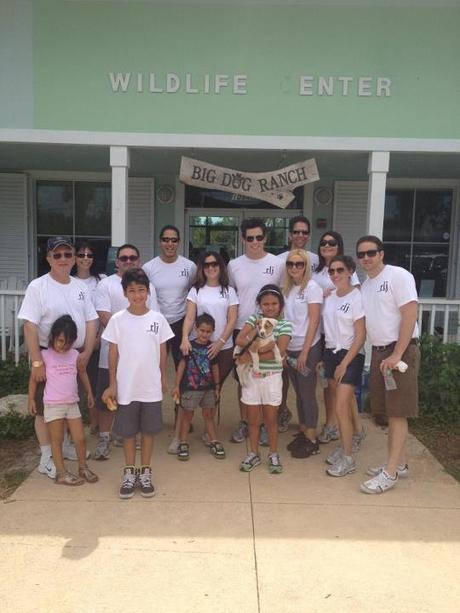 Raymond Lee Jewelers Volunteers, Big Dog Ranch Rescue, BDRR, ASPCA