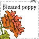 the pleated poppy blog