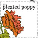 the pleated poppy blog