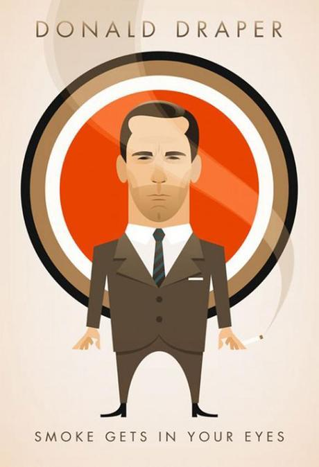 MAD MEN Posters by Stanley Chow and Christina Perry