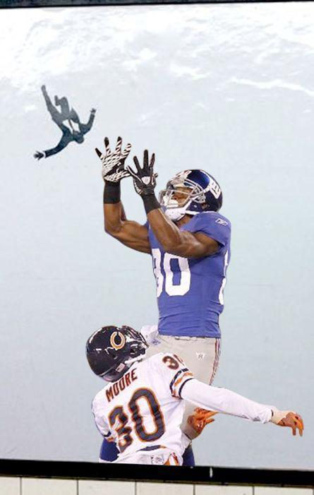 Cruz makes the catch! (By Gerald)