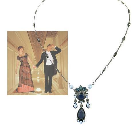 titanic antique necklace