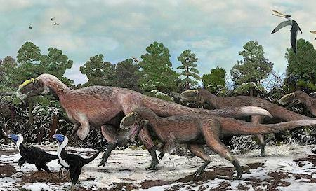 Giant Feathered Dinosaur Discovered In China