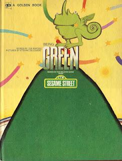 ETIENNE DELESSERT: BEING GREEN (Guest post on Vintage Kids' Books)