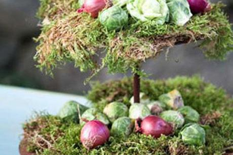 Spring Vegetable Centerpiece