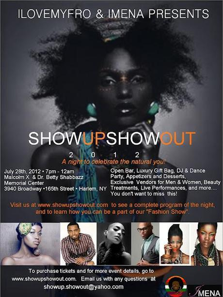 NYC NATURAL HAIR EVENT ALERT | Show Up, and Show Out!