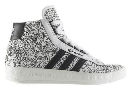 Fashion News: New kicks from Adidas by Keith Haring. -...