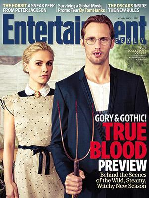True Blood EW Cover nominated in Amazon's Best Magazine Cover Contest