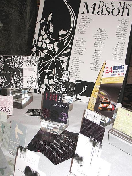 Wendy Bell invitations at the Luxury Wedding Show (5)