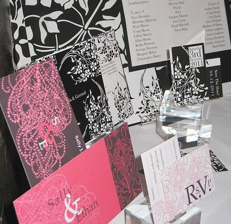 Wendy Bell invitations at the Luxury Wedding Show (13)