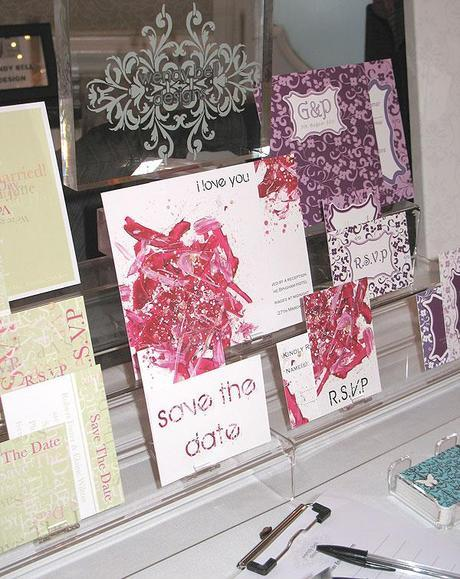 Wendy Bell invitations at the Luxury Wedding Show (6)