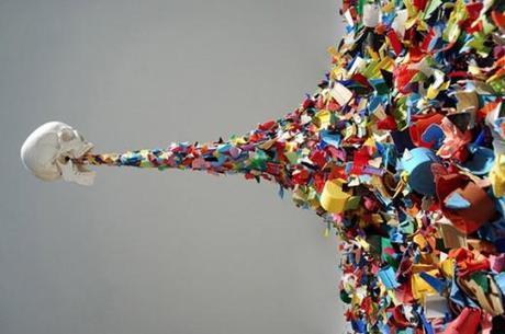 abstract installation, modern art, contemporary art