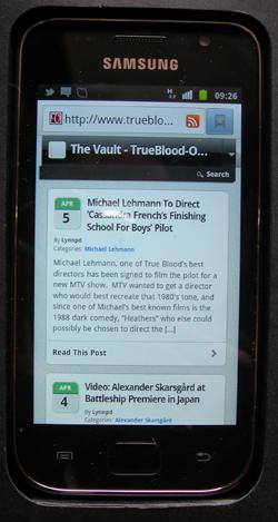All the latest True Blood news on your phone with The Vault
