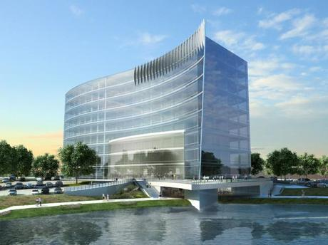 Headquarters Exterior Rendering