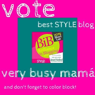 Best Style Blog - I've been nominated!