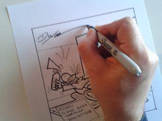 How to Draw an Editorial Cartoon---Part 1