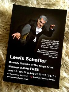 """Lewis Schaffer and the unopened letters from his mother: """"All women are crazy"""""""