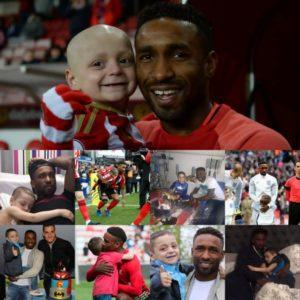Jermain Defoe's noble and moving farewell to Bradley Lowery