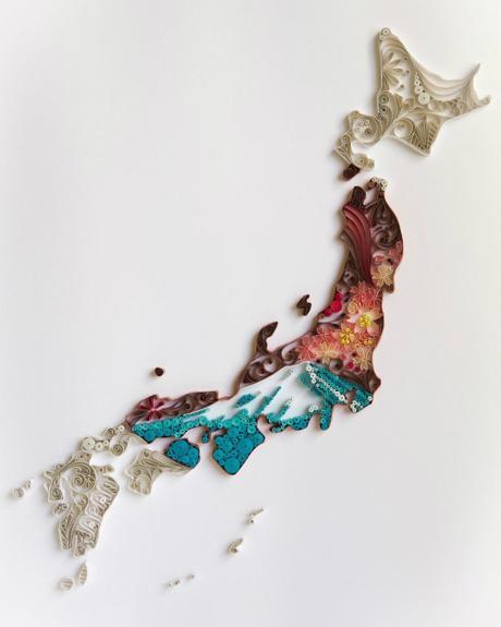 Quilled Japan by Akiko Makihara