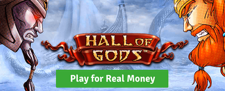 NetEnt Hall of Gods slot play for real money