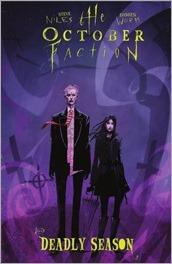 The October Faction: Deadly Season TPB Cover