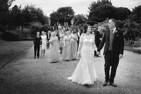 Kingston Maurward Red Garden Wedding