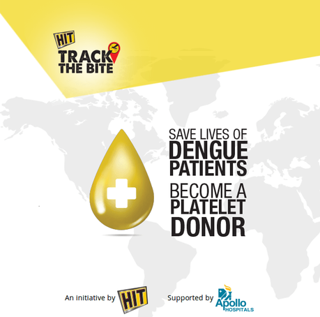 Platelet Donor Online Community Debuts #TrackTheBite #SuperHitDonor