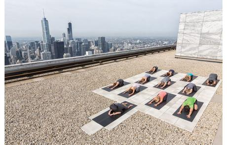 rooftop yoga chicago