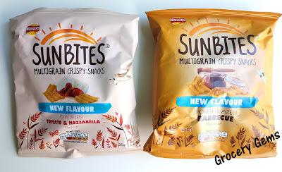 Review: Sunbites Honey Glazed Barbecue and Tomato & Mozzarella new flavours