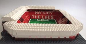 Crystal Palace fan commissioned by Hibernian to design a Lego Stadium of Light