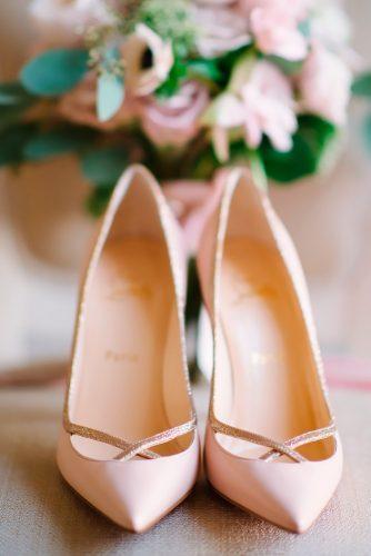 classy nude wedding shoes milton